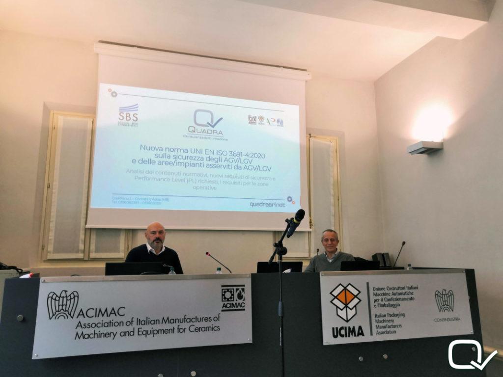 Corso ISO 3691 AGV LGV relatori