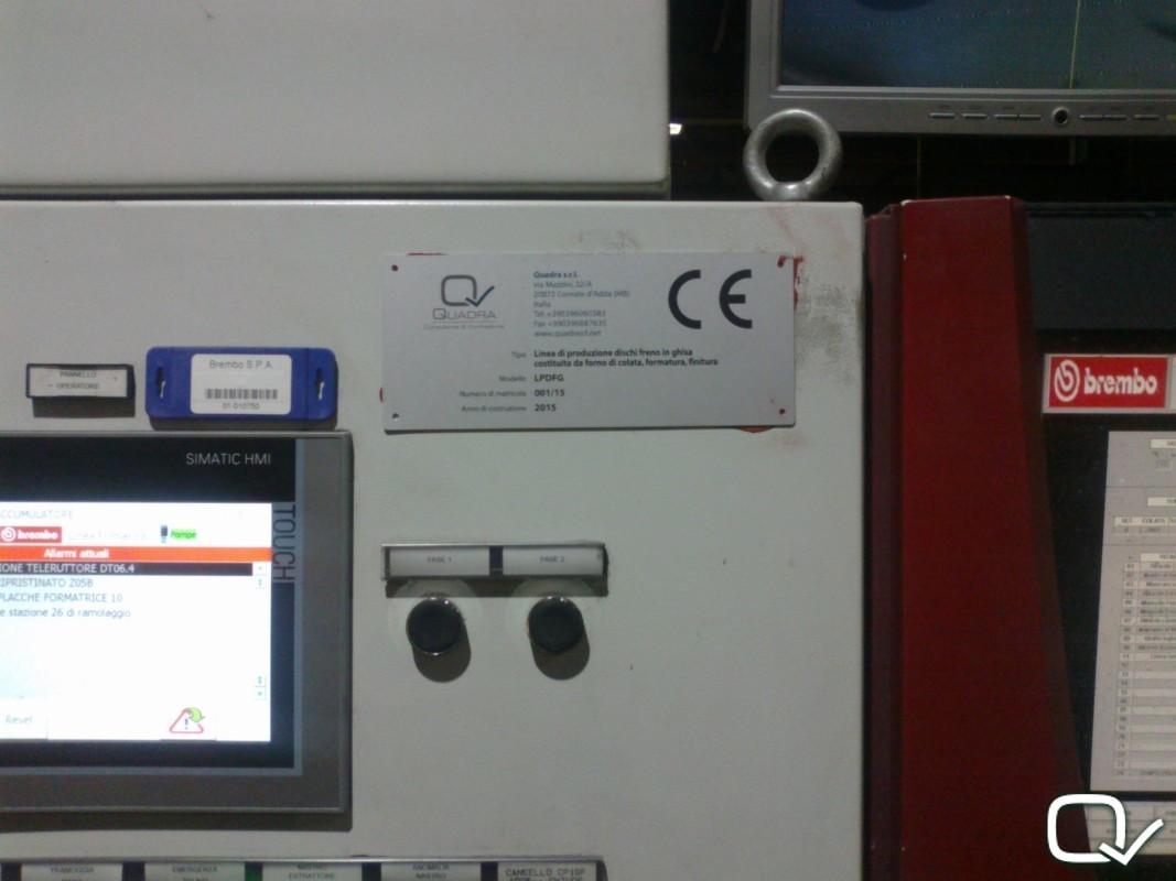 targa marcatura CE