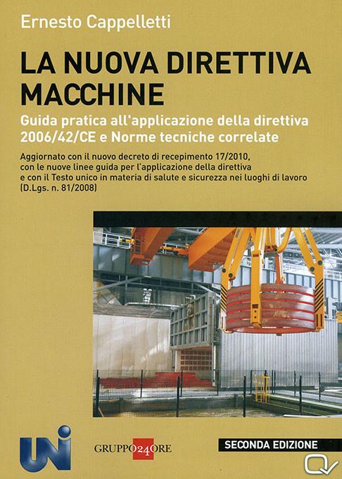 Copertina libro direttiva macchine - seconda edizione