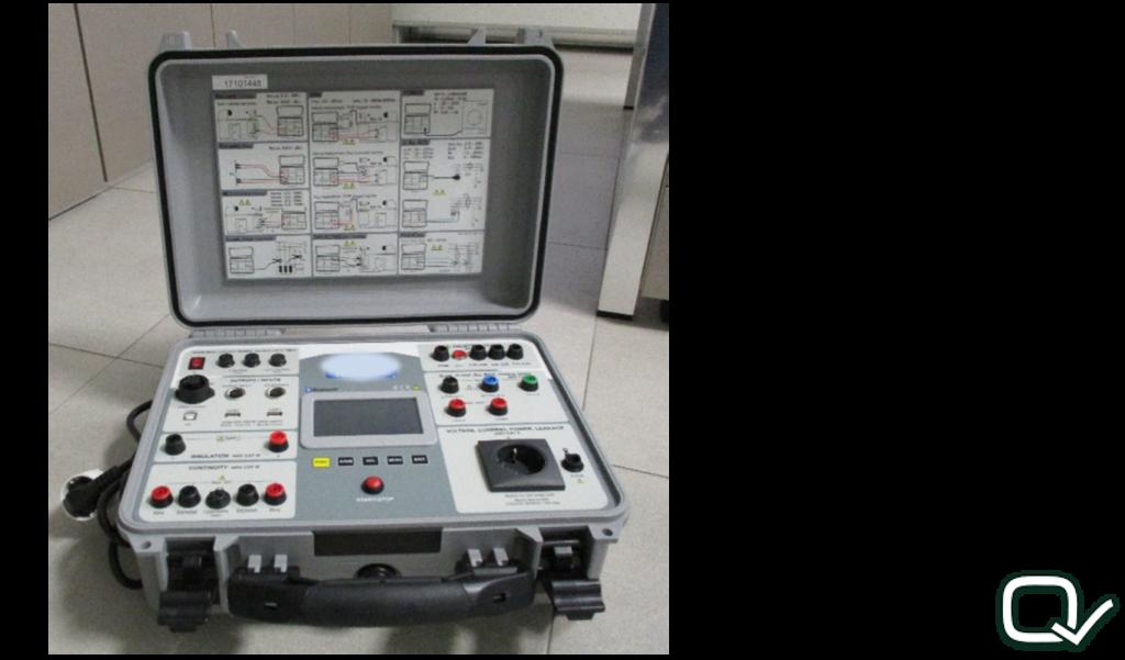 strumento per prove elettriche EN60204